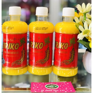 Dung Dịch Uốn Tóc Koriko Nhân Sâm + Vitamin B5 Mau Quăn, Bóng Tóc, Không Cháy Tóc