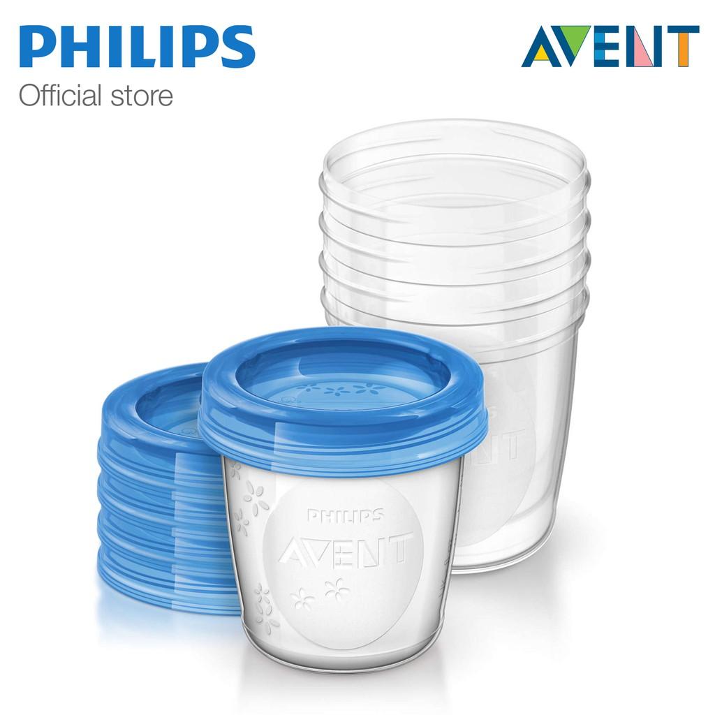 Cốc trữ sữa bằng nhựa Philips Avent SCF619/05 180ml (5 ly)