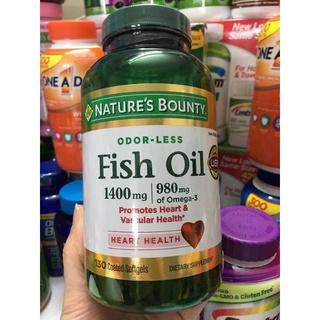 Dầu cá Fish oil Nature s Bounty 1400mcg 130 viên c thumbnail