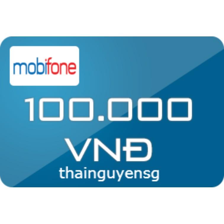 Thẻ Cào Mobi 100