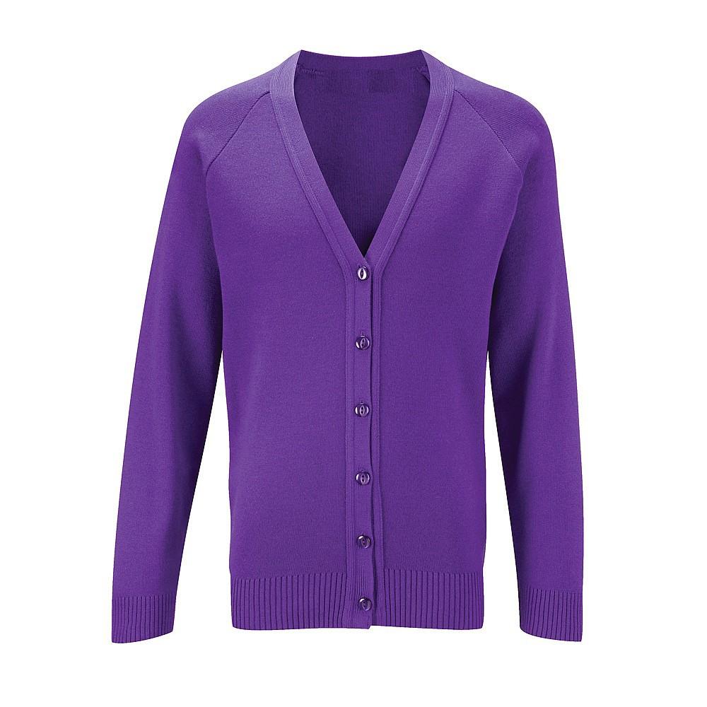 Cardigan (Purple) - Áo len nam thời trang cao cấp
