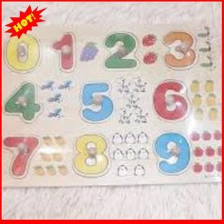 [HÀNG THẬT] Bảng 10 số tập đếm cho bé 020 có núm