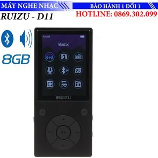Máy nghe nhạc thể thao Bluetooth Mp3 Sport Ruizu D11 Bộ nhớ trong 8GB Phím cứng hỗ trợ xem video thumbnail