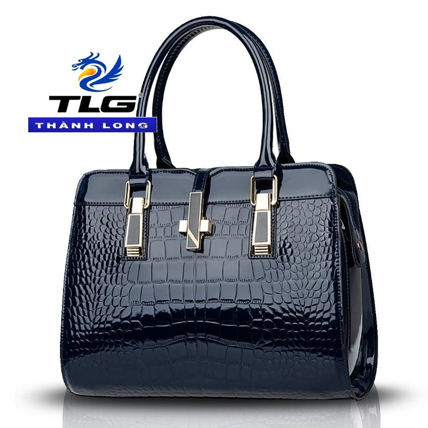 Túi xách nữ thời trang cao cấp Đồ Da Thành Long TL 990 (xanh tím than)