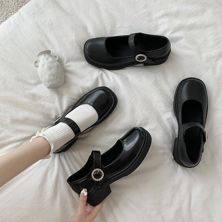 Giày Nữ Đế Dày Kiểu Dáng Thời Trang Cá Tính