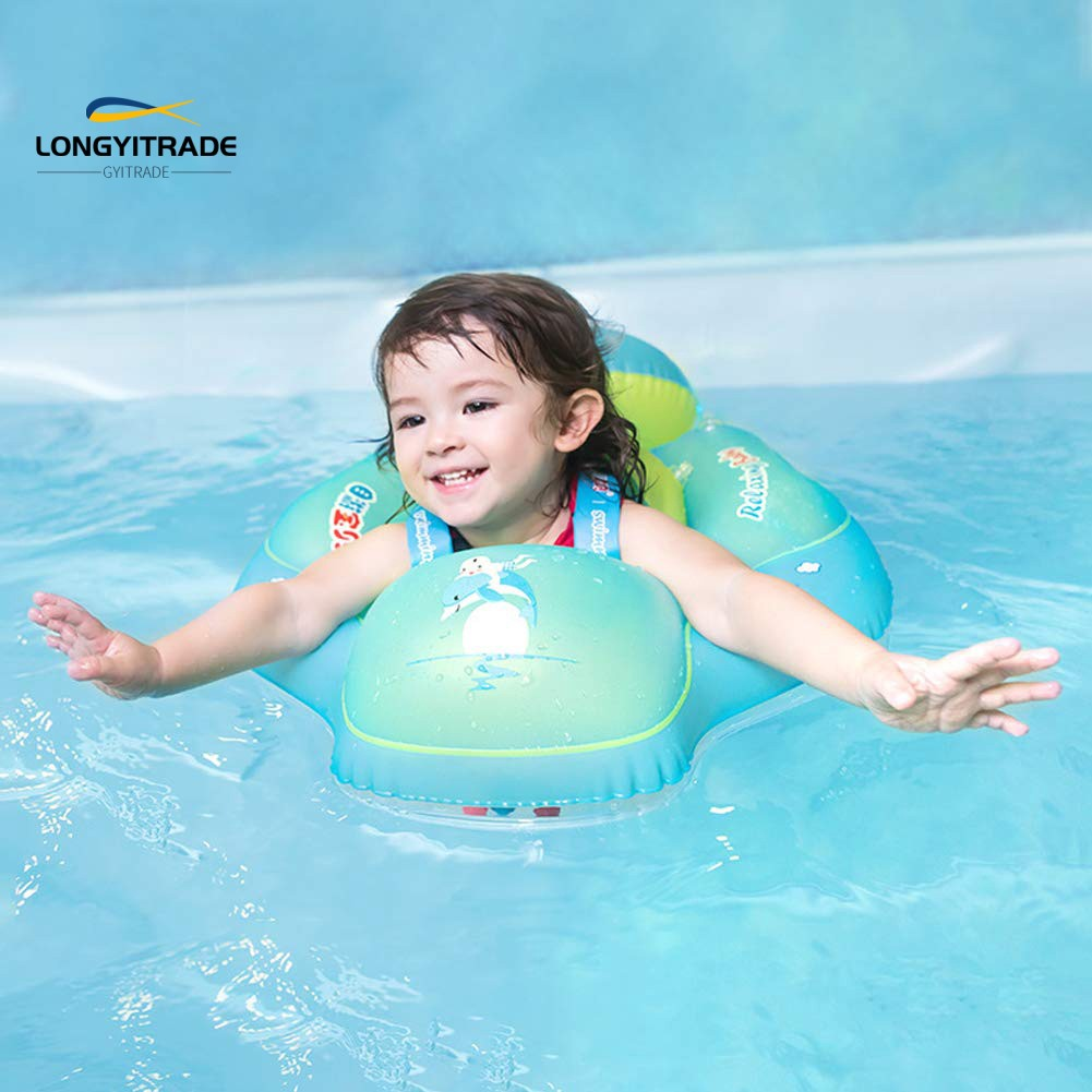 Inflatable  Ring Floating Buoy Beach Pool Pond Game Toy