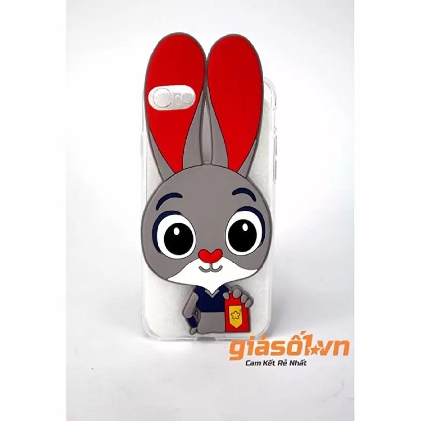 Ốp lưng silicon tai thỏ cho Xiaomi Redmi Note 2