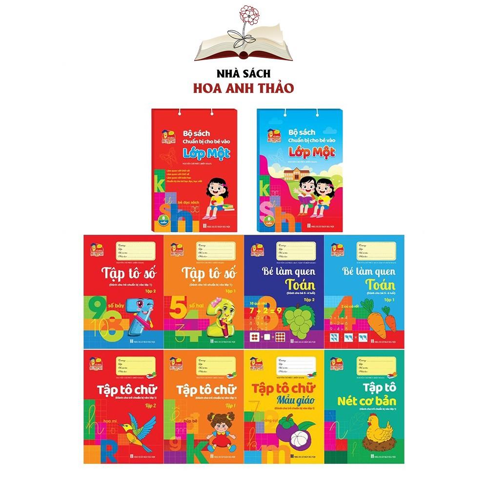 Sách - Tập Tô Bộ chuẩn bị cho bé vào lớp 1 (8 cuốn)