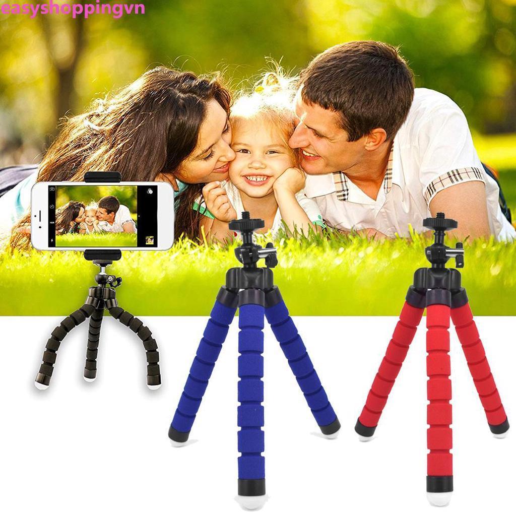 ☀ Generic Mobile Phone Camera Bluetooth Self-timer Mini Sponge Tripod Bracket Set