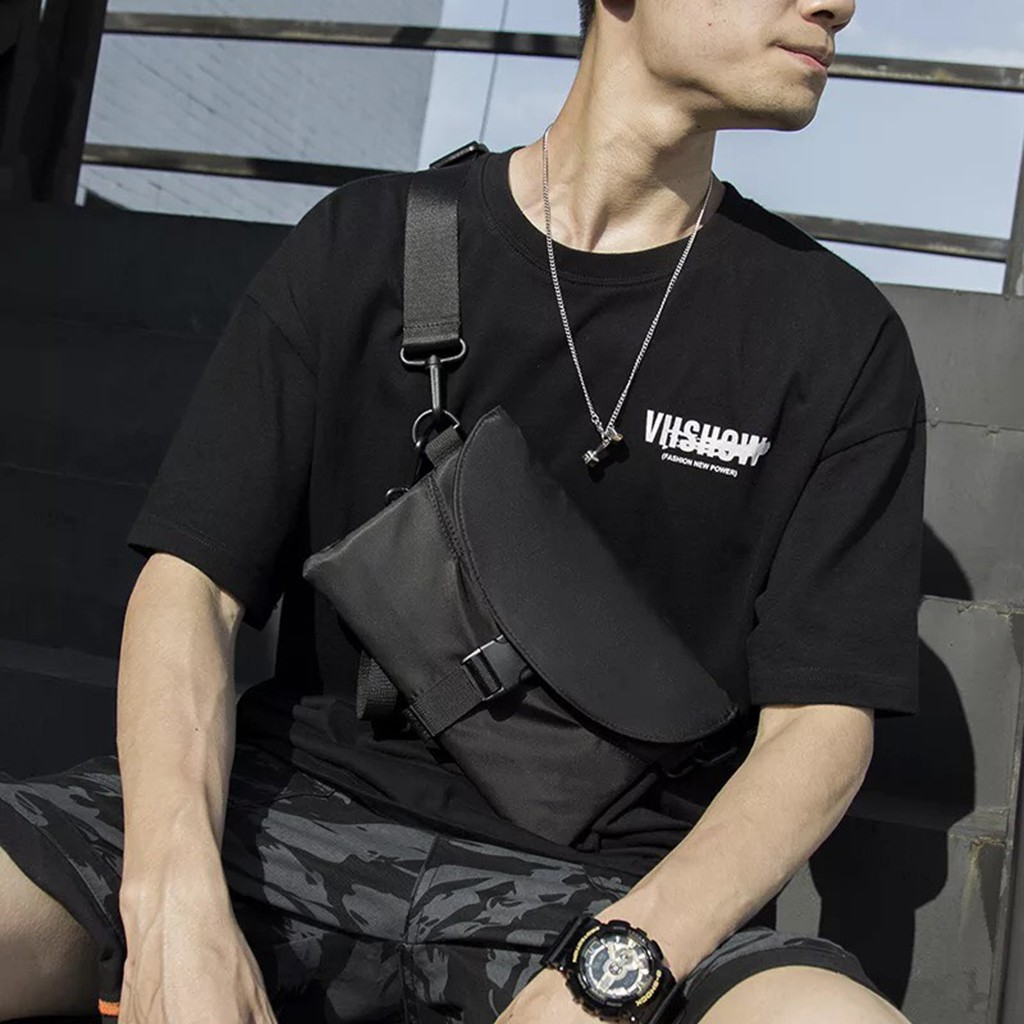 Túi nam đeo chéo cầm tay thời trang hàn quốc đẹp rẻ mẫu mới hot nhất 2020 - Lupine