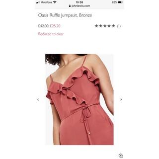 Jumpsuit Oasis chất liệu vải cotton mềm mịn thumbnail