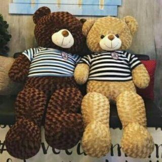 Gấu bông teddy khổ vải 1m2 hàng vnxk siêu đẹp