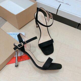 Sandal gót kim loại gót 7 cm