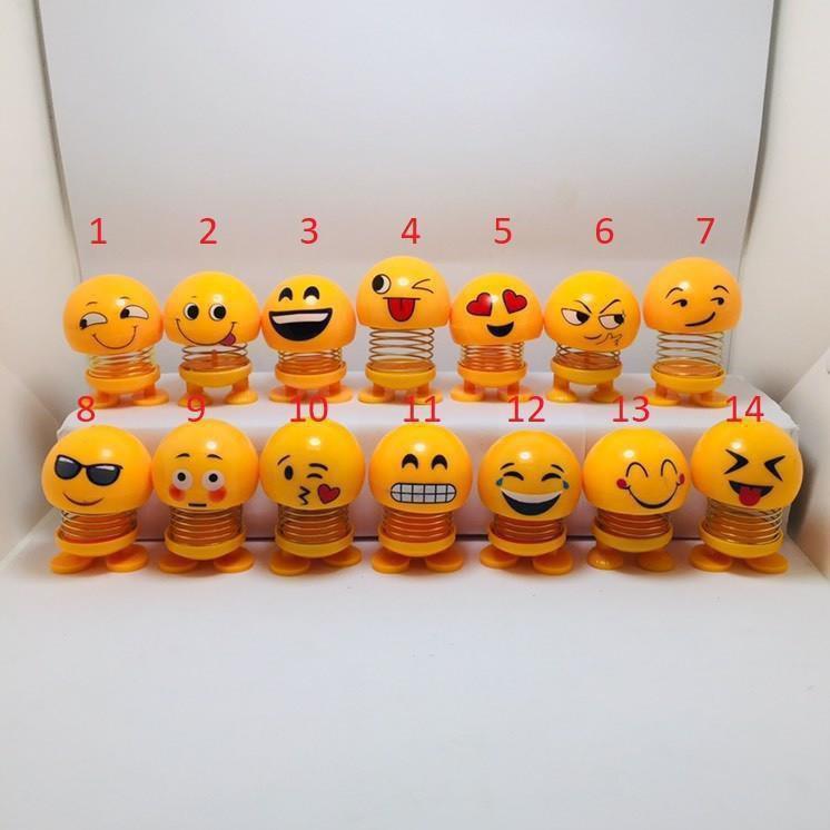 Sỉ 50 Emoji lò xo thú nhún hình biểu tượng cảm xúc_tuanthanh