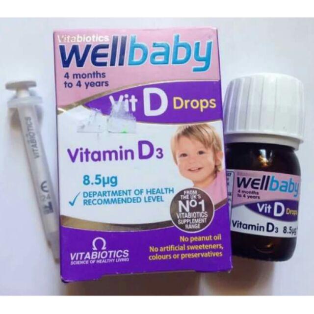 Vitamin D3 Drop - Vitabiotics