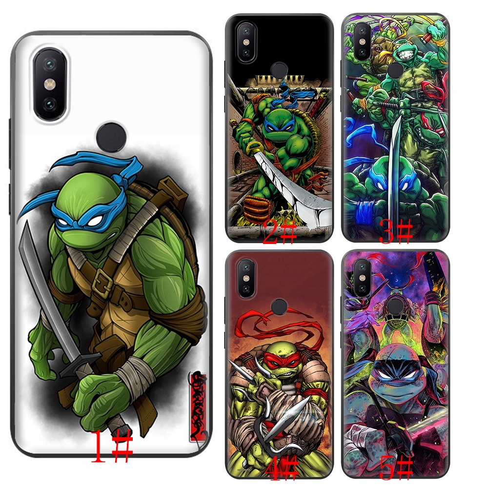 Teenage Mutant Ninja Turtles Xiaomi Mi A1/5X A2/6X 6 8 9 9se MAX 3 F1 Lite soft case