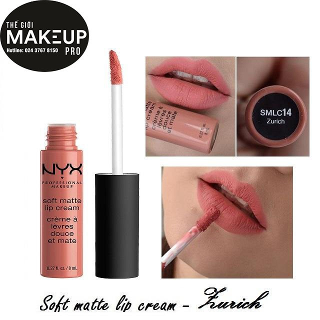 Son kem NYX Soft Matte Lip Cream Zurich SMLC14 - 3116106 , 670572192 , 322_670572192 , 230000 , Son-kem-NYX-Soft-Matte-Lip-Cream-Zurich-SMLC14-322_670572192 , shopee.vn , Son kem NYX Soft Matte Lip Cream Zurich SMLC14