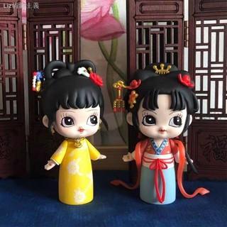 Mô Hình Búp Bê Phong Cách Trung Hoa Độc Đáo
