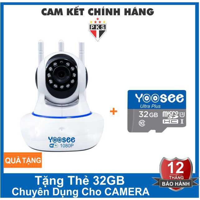 [COMBOYOOSEE] Camera IP YooSee 3 Anten FHD1080P - 2.0mpx TẶNG THẺ 32GB - 14446833 , 2779238509 , 322_2779238509 , 429000 , COMBOYOOSEE-Camera-IP-YooSee-3-Anten-FHD1080P-2.0mpx-TANG-THE-32GB-322_2779238509 , shopee.vn , [COMBOYOOSEE] Camera IP YooSee 3 Anten FHD1080P - 2.0mpx TẶNG THẺ 32GB
