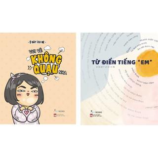 Sách - Combo 2 cuốn Vui vẻ không quạo nha+ Từ điển tiếng em. thumbnail
