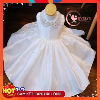 Đầm công chúa 👗 FreeShip + Tặng kèm nơ 🌺 Váy Đầm Evelyn cho bé dự tiệc VF12 E001 E003