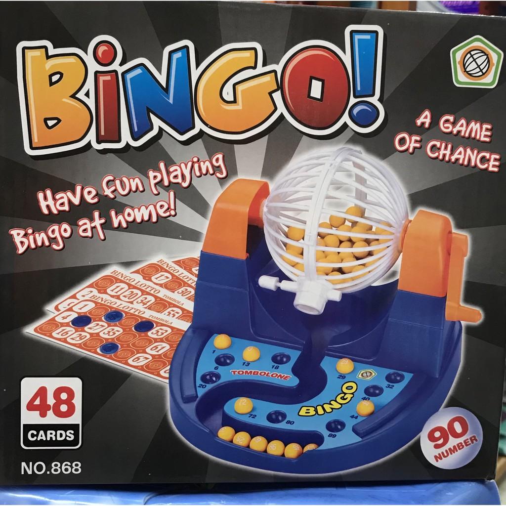 Bộ đồ chơi lôtô bingo 90 số 🚀Freeship🚀 Bộ lôtô có lồng quay lớn, đếm số chơi trong phòng, lễ tết-Shop Hàng Cực Rẻ