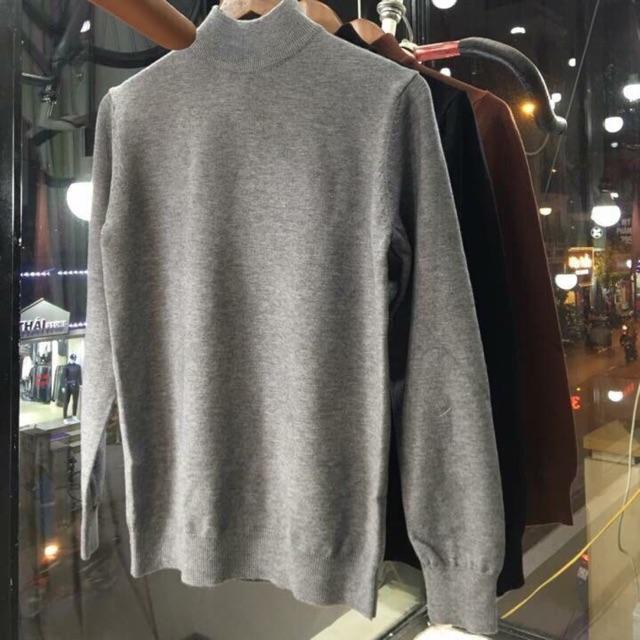 Áo len cổ 3cm chất lông cừu cao cấp - Áo len cho cả nam và nữ Áo cổ trụ