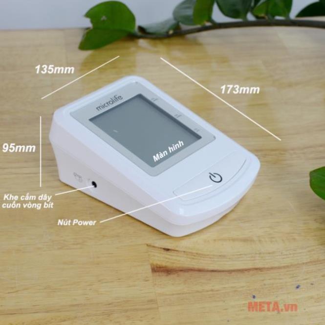 Máy đo huyết áp bắp tay Microlife 3NZ1-1P - Thương Hiệu Thụy Sĩ | Bảo Hành 5 Năm