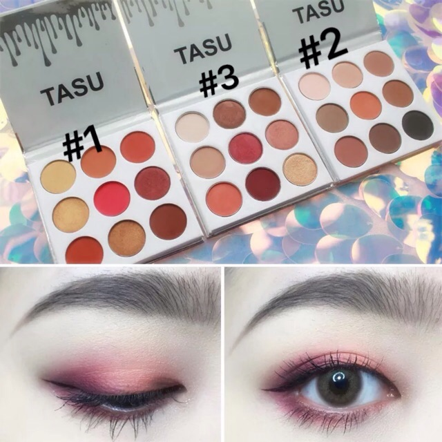 CÓ SẴN - Bảng phấn mắt 9 màu TASU