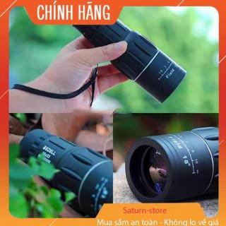 Ống nhòm một mắt Bushnell 16x52 siêu nét, hỗ trợ nhìn và chụp ảnh từ xa ( tặng kèm phụ kiện kẹp điện thoại + bao đựng) thumbnail
