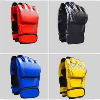 Găng tay tập võ đấm bốc hở ngón ⚡FREESHIP⚡ Bao tay MMA đấm bao cát tập Muay Thai giá rẻ