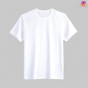 Phôi áo chuyển nhiệt màu Trắng TC Sài Gòn Giá chỉ 32.000₫