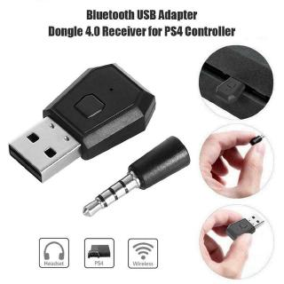 【In stock】 Bluetooth Headset Adapter Mini Wireless Dongle USB Receiver for PS4 Controller 【te】