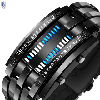 Đồng hồ đeo tay điện tử không thấm nước có đèn LED cao cấp cho nam