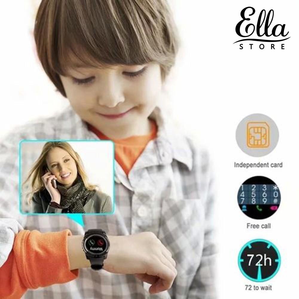 Đồng hồ thông minh V8 1.54inch màn hình cảm ứng có camera kết nối bluetooth tiện dụng