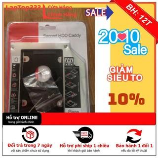 [Mã ELFLASH5 giảm 20K đơn 50K] [BH12TH] Caddy Bay HDD SSD SATA 3 9.5mm/12.7mm - Khay ổ cứng