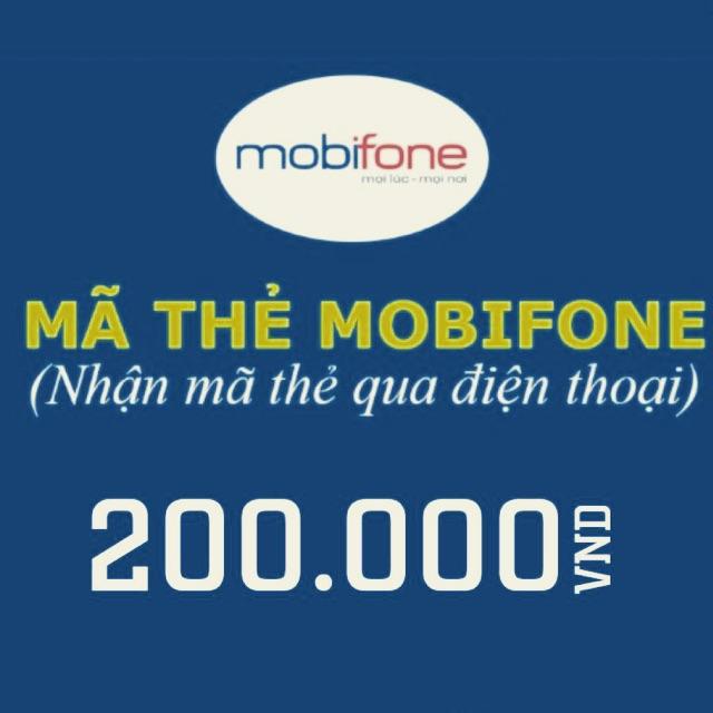 Mã thẻ/Nạp tiền Mobifone 200k - 2773993 , 315998847 , 322_315998847 , 200000 , Ma-the-Nap-tien-Mobifone-200k-322_315998847 , shopee.vn , Mã thẻ/Nạp tiền Mobifone 200k