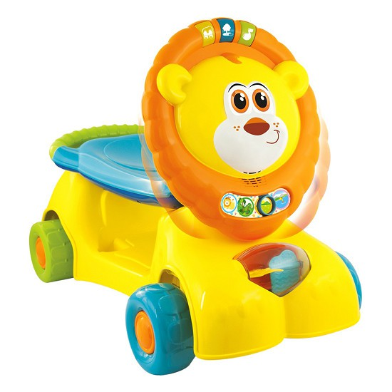 Xe tập đi sư tử kết hợp xe chòi chân, scooter Winfun 0855-NL