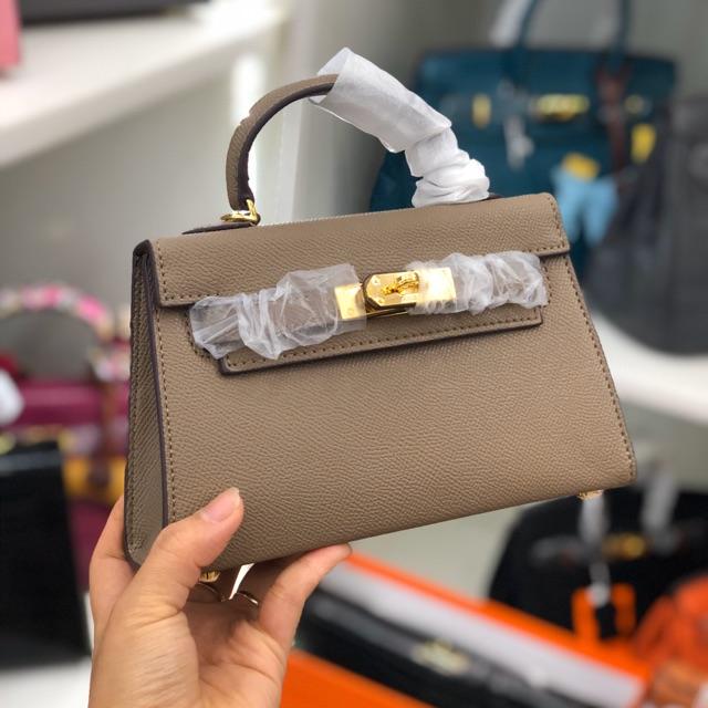 💖hàng quảng châu 💖 Túi đeo chéo nữ cao cấp HM phong cách vitage thích hợp đi chơi di dã ngoại VT77