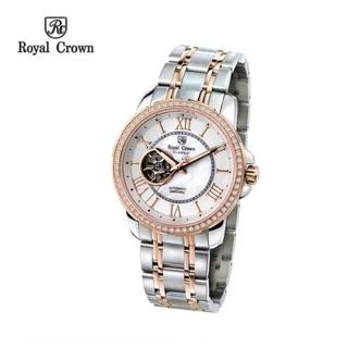 Đồng hồ nam Chính Hãng Royal Crown 8423SS-RG (Automatic)