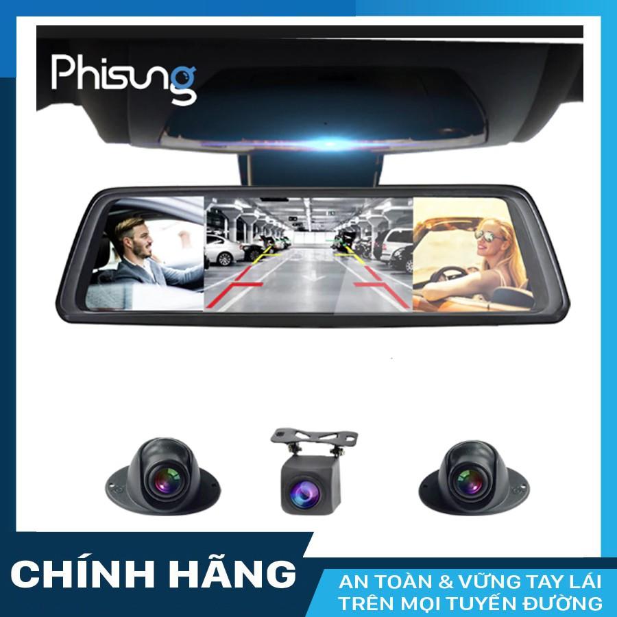 Camera hành trình Phisung V9 Plus 4 camera, Android Wifi GPS + 02 thẻ nhớ 64GB Class 10 - 23018581 , 2109608725 , 322_2109608725 , 5790000 , Camera-hanh-trinh-Phisung-V9-Plus-4-camera-Android-Wifi-GPS-02-the-nho-64GB-Class-10-322_2109608725 , shopee.vn , Camera hành trình Phisung V9 Plus 4 camera, Android Wifi GPS + 02 thẻ nhớ 64GB Class