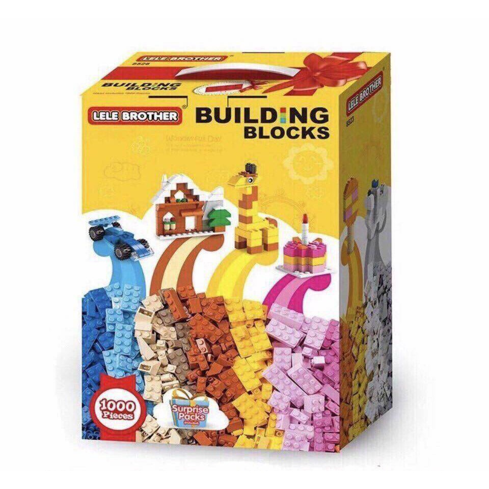 LEGO 1000 CHI TIẾT LELE BROTHER NEW 2019