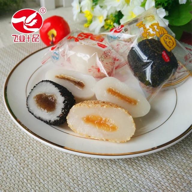 2Kg bánh mochi Đài Mashu 4 vị : Vừng đen, vừng trắng, đậu đỏ, hạnh nhân