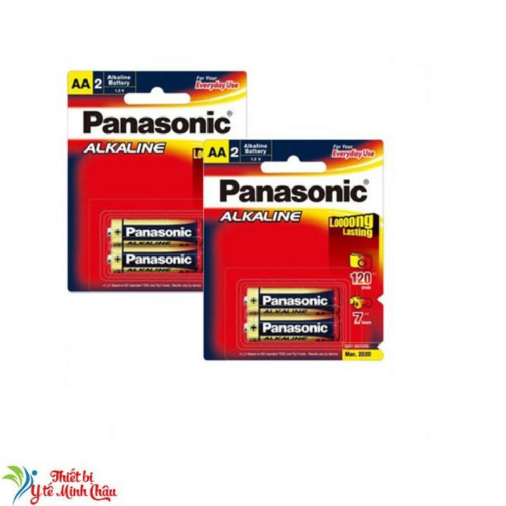 Bộ 4 viên pin Panasonic Alkaline AA