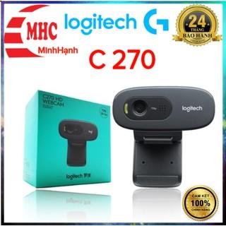 Webcam Logitech HD C270 chính hãng bh 2 năm