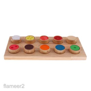 Montessori Wood Toy Kids Baby Preschool &Kindergarten Educational Material