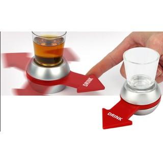 Spin the shot ( đồ chơi quay chọn người uống )
