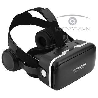 [Mã ELMSBC giảm 8% đơn 300K] Kính thực tế ảo có tai nghe VR Shinecon Headset 6.0