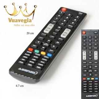 [Mã ELFLASH5 giảm 20K đơn 50K] CHÍNH HÃNG Remote điều khiển Tivi ASANZO ĐỦ LOẠI III