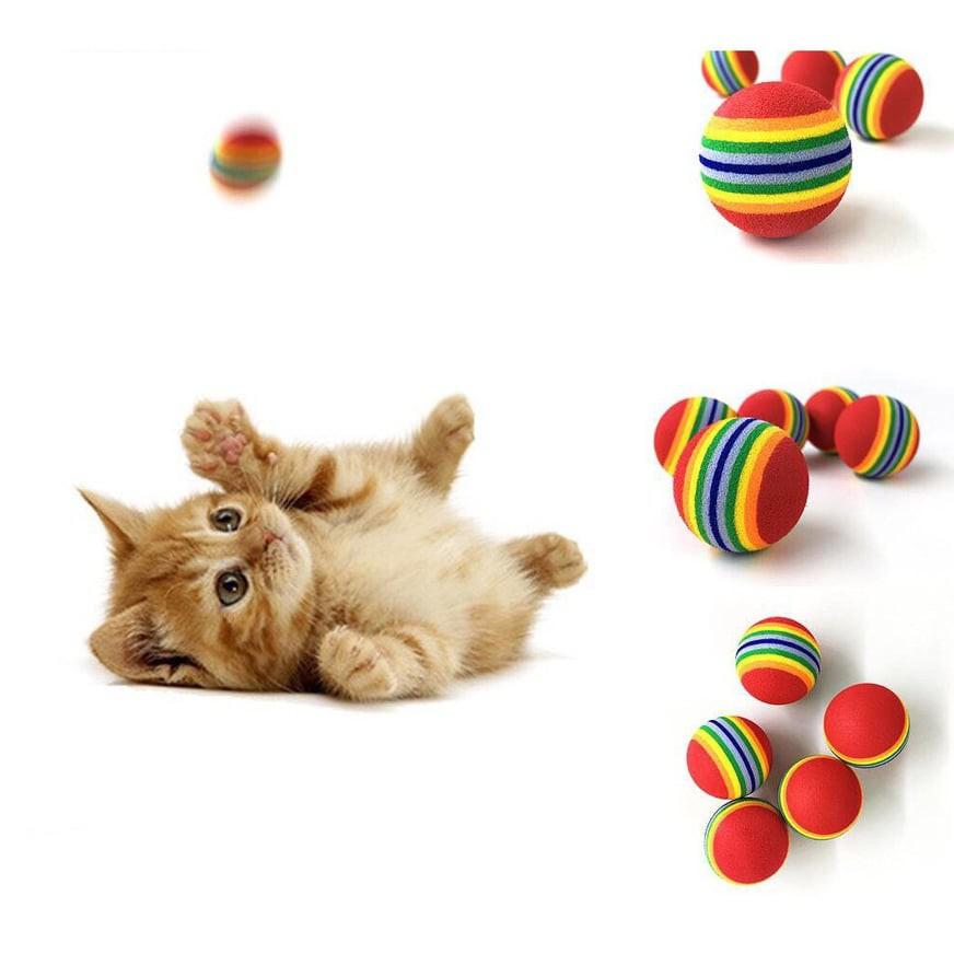 Banh cầu vồng - Đồ chơi chó mèo